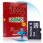 DSi R4i flash card